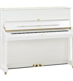 Yamaha U1 Acoustic Upright Polished White