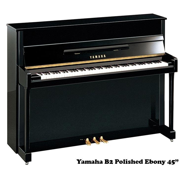 """yamaha b2 pe 45"""" upright piano"""