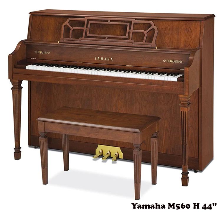 """Yamaha M560H 44"""" upright Piano"""