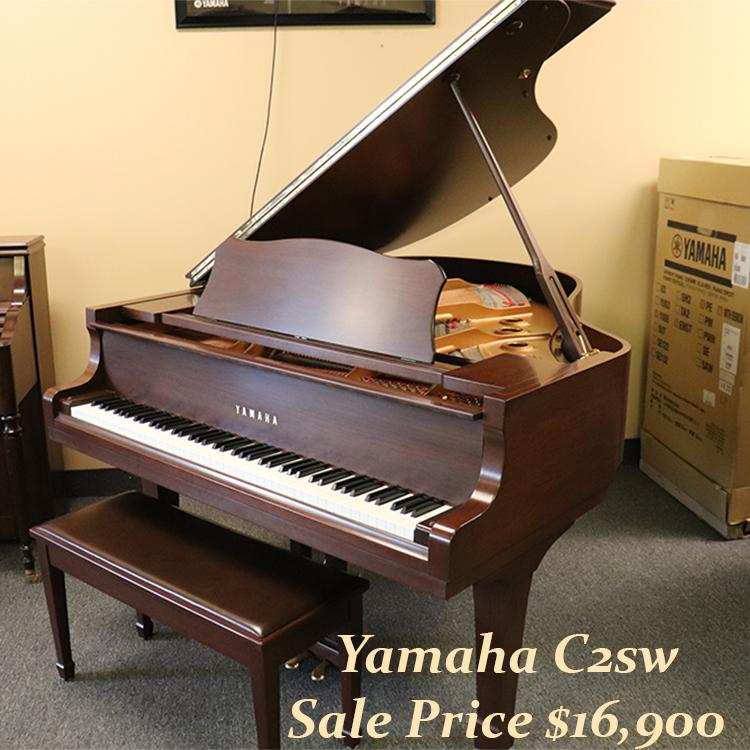 yamaha used c2 piano for sale