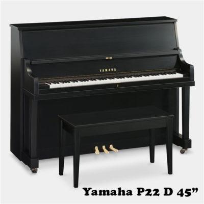 Yamaha p22 d in satin ebony