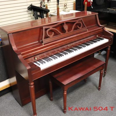 kawai 504t used piano for sale