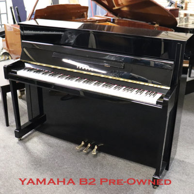 Used Yamaha B2 in polished ebony for sale in freehold nj