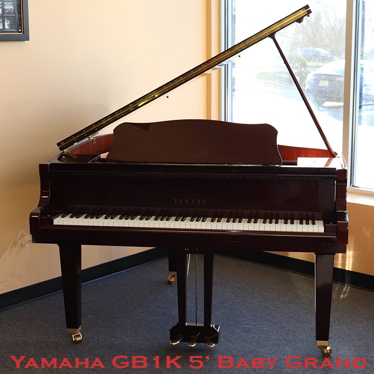 Yamaha 5 foot gb1k baby grand for sale in newjersey